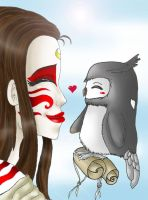 Collab:Painted Lady and Wanshi by superaura