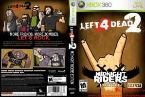 L4D2 Midnight Riders game case by BrokenTeapot