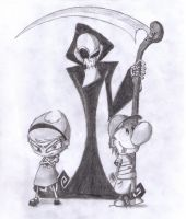 Grim Adv. of Billy and Mandy by thebloodreaver