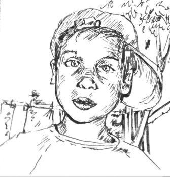 sketch of my son by Sid9215
