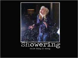 Showering by LaLaShivers