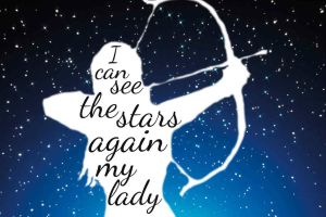 I can see the stars again my lady by Potterica