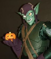 Green Goblin Costume by jacemoore