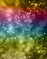FREE Multi Color Space Bokeh Background by RedHeadFalcon