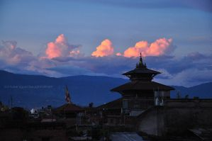 Red Clouds promise a better day by sumangal16