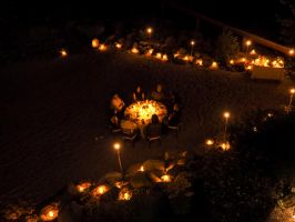 Lake Tahoe supper by candlelight150815-76 by MartinGollery