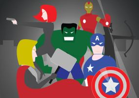 Avengers by hgustavo