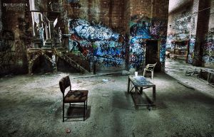 Life Wasted. HDR. by DirtyLittleDevil