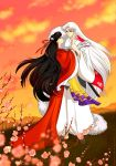 Comission. Rin and Sesshomaru by katewind