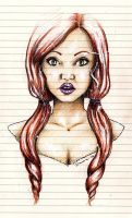 Red Haired by DawnArts