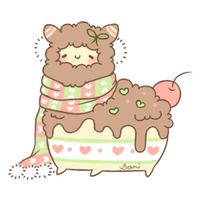 [CLOSED] December 9th: Alpaca Cakie by Sarilain