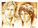 Frodo and Sam by napalmnacey