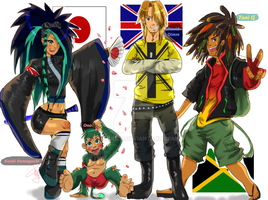 TDA- Here Comes The New Kids by Kiki4rich