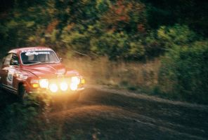 Saab 96 at Mt Hood Rally 2007 by qmorley