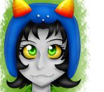 Nepeta Headshot by XHawkclawX