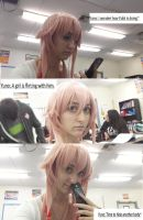 Yuno Gasi- time to hide a body by CosplayQueendom