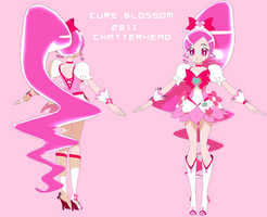 Cure Blossom 2011 WIP by chatterHEAD