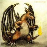Charizard with Blade Wings by DeweyousArts