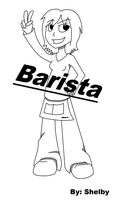:BARISTA: Cover Page by SilverJinxx