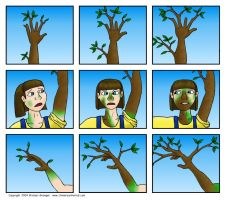 Tree Girl Comic 4 by lemachi