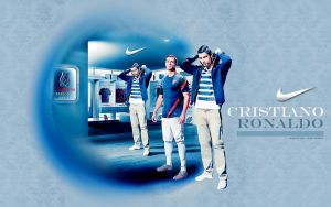 Wallpaper Cristiano Ronaldo 3 by shad-designs
