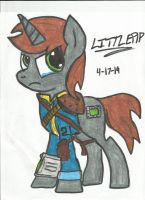 Littlepip - The Light Bringer by Neos-Two