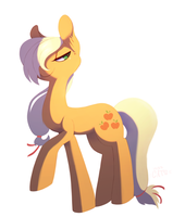 AppleJack - Day 67 by Miss-Cats
