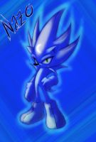 Nazo the Hedgehog by RabidRaccon