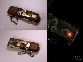 Steampunk USBSD by TheCraftsman