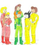 Totally Spies- Fan Request by Jose-Ramiro