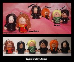 My Clay Army by bewarethepossums