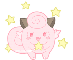 Clefairy by TinyWalrus