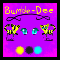 Bumble-Dee reference sheet by Tontora