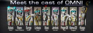Meet The Cast of OMNI by Mattex01