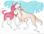 Journey fr Mother and Daughter by Stray-Sketches