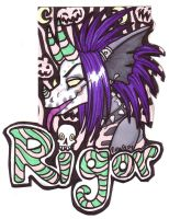 Badge - Rigor by misako