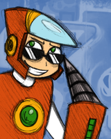 Crashman's too cool for school by Chloemew4ever