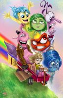 Disney-Inside Out by WiL-Woods