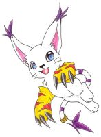 Gatomon by Mia-Merridew