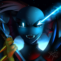 Undyne The True Hero + Video by Jacky-Bunny