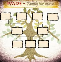 PMDE Family Tree Meme V.3 by AnimeFoxySheikah