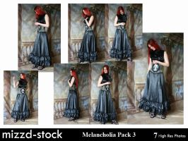 Melancholia Pack 3 by mizzd-stock