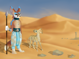 The Conquering Desert by The-Hare