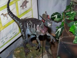 Jurassic Park Dilophosaurus by Blade-of-the-Moon