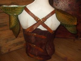 Faun Armor Back by Artapologia