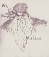RotG: Santa and his Elf by oOShinahiOo