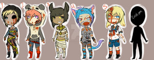 Zombie Adopts Closed by tapiocAdopts