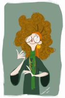 Prof. Trelawney by CaptainChants