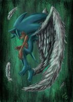 Sonic the angel by LeonS-7