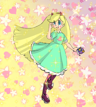 Star Butterfly by Abel-Killed-Cain